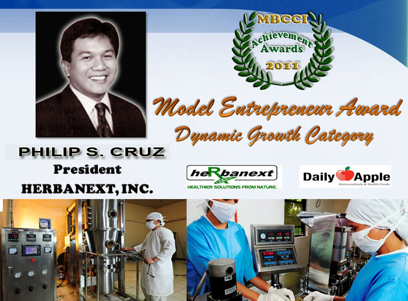 Herbanext Model Entrepreneur Award