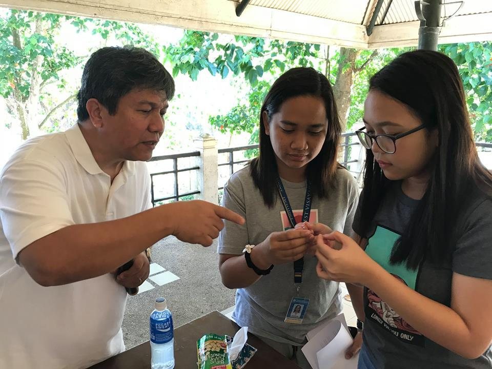 West Visayas State University at medicinal herb garden of
