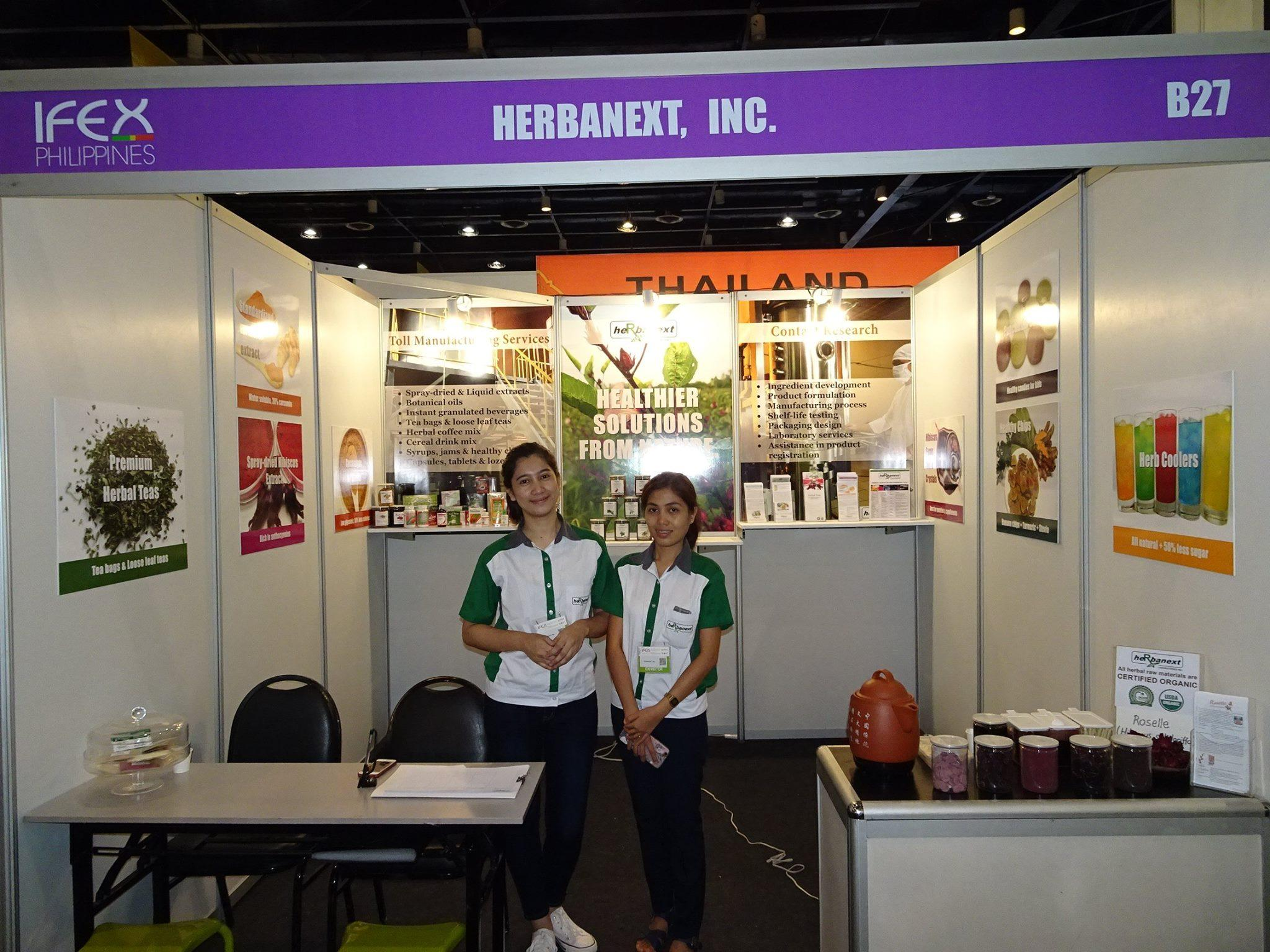 Herbanext Joins International Food Expo 2017, World Trade Center